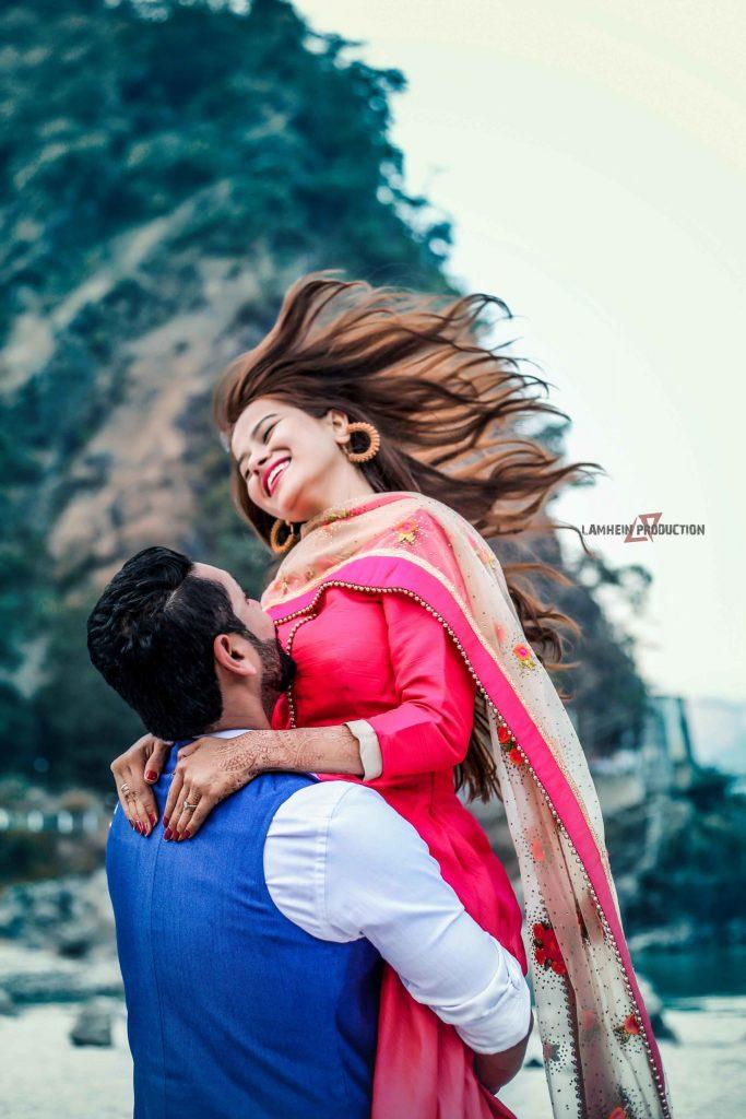 best pre wedding photographer in dehradun